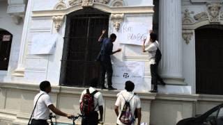 Estudiantes de la Industrial exigen una solución