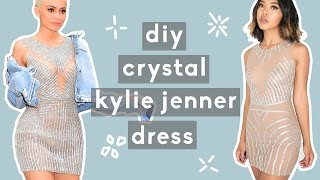 DIY Kylie Jenner Inspired Crystalized Dress | Nava Rose