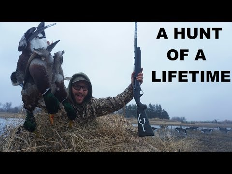A SOLO DUCK HUNT FOR THE BOOKS!! (BEST HUNT EVER)