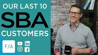 10 Clients for an SBA Loan, Business Term Loan, or Bank Line of Credit - #FINANCEAGENTS LIVE! 045