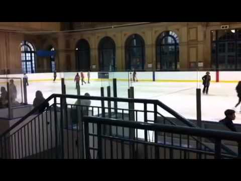Alicia Hannah skating