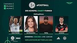 LIVE 🔴 Podolski, Leno & Co. beim FIFA 20 Charity Turnier