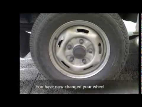 Custom Ford Transit >> Changing a Ford Transit Tyre - YouTube