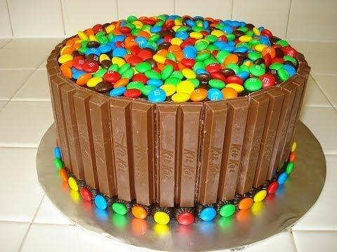 Kit Kat M M Cake How To Video Youtube