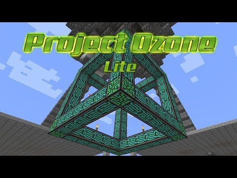 Project Ozone Lite - CONTROLLER [E12] (HermitCraft Server Modded Minecraft Sky Block)