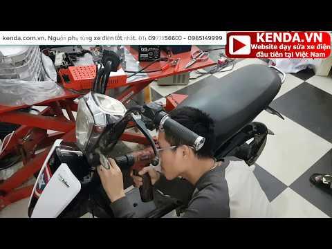 Hướng dẫn sửa xe điện CAP A Hkbike nặng bánh, nhưng lại Khét Lẹt theo trình tự, bài bản