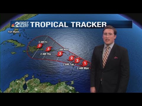 Tropical Storm Maria: Sunday morning update