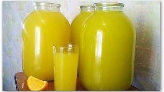видео Быстрый и полезный способ, как приготовить апельсиновый сок в домашних условиях