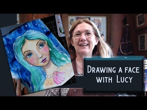 Drawing Faces by Live Art Journaling and Self Development thumbnail