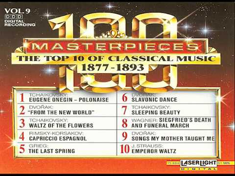The Top 100 Masterpieces of Classical Music 【 Vol 9】10 Volume Set Digital Recording
