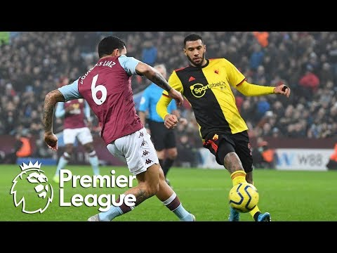Douglas Luiz nets equalizer for Aston Villa against Watford | Premier League | NBC Sports
