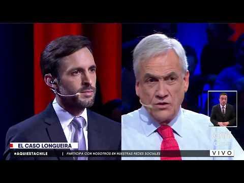 El comentado momento entre Daniel Matamala y Sebastián Piñera