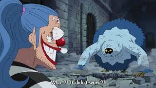 Fans Anime I One Piece ILuffy And Buggy (funny moment) In Impel Down One piece