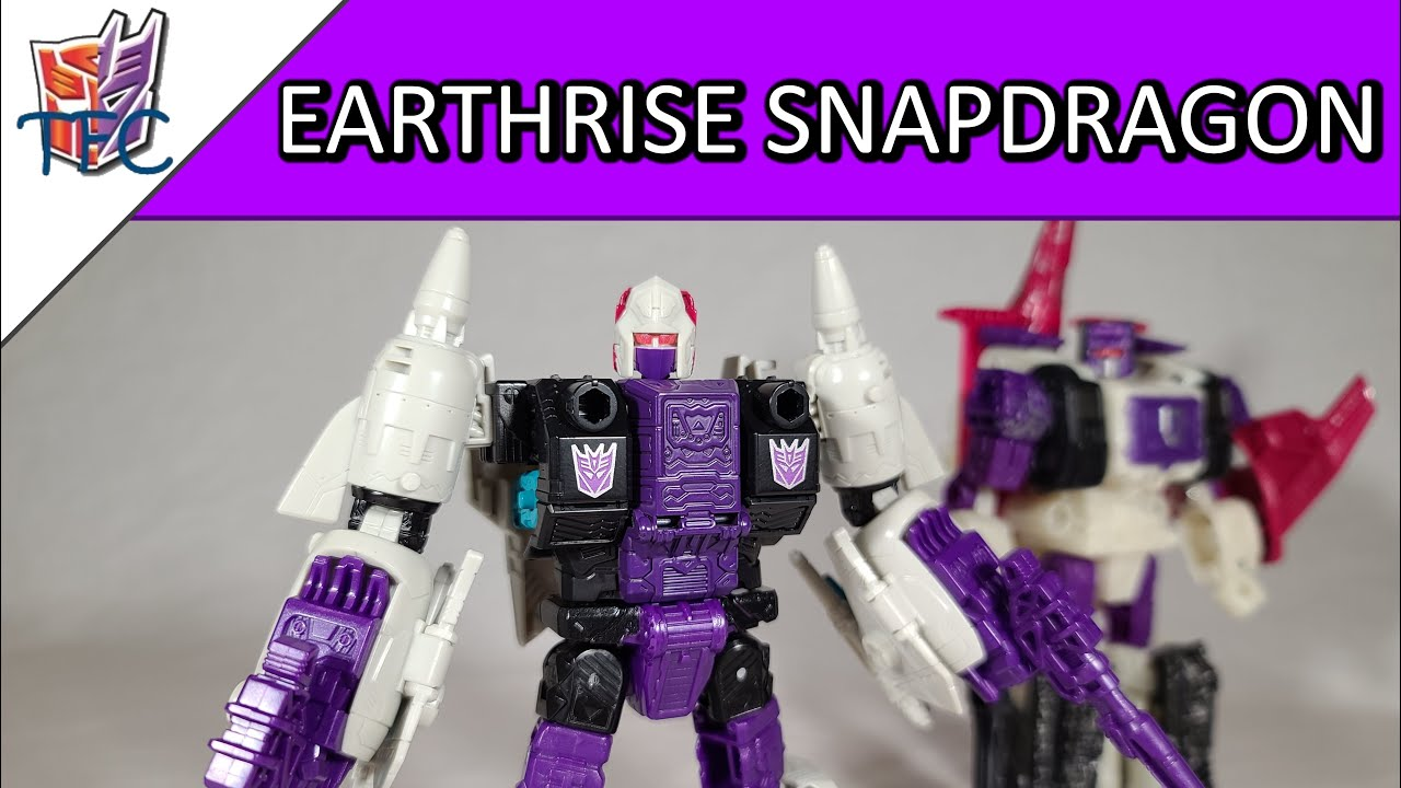 TF Collector Earthrise Snapdragon Review!