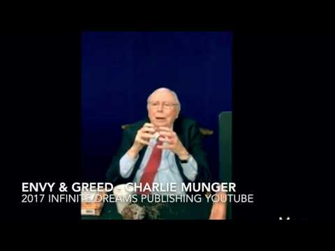 On Jealousy, Envy, Greed - Charlie Munger Interview 2017