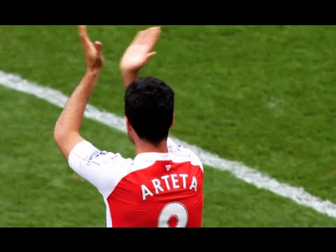 Mikel Arteta - Goodbye Captian & Thanks