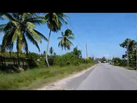 Guyana 2012. Driver speeding my way to Berbice