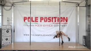 Silvia Caronia - Italian Pole Dance Contest 2016