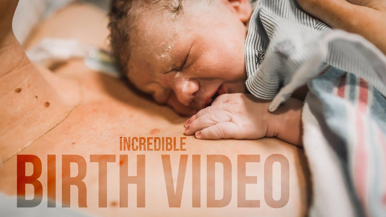 INCREDIBLE BIRTH VIDEO! - (Warning You May Cry   )