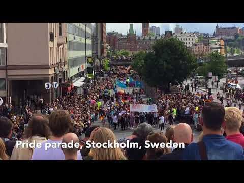 Pride parade, Stockholm, Sweden @Harsha