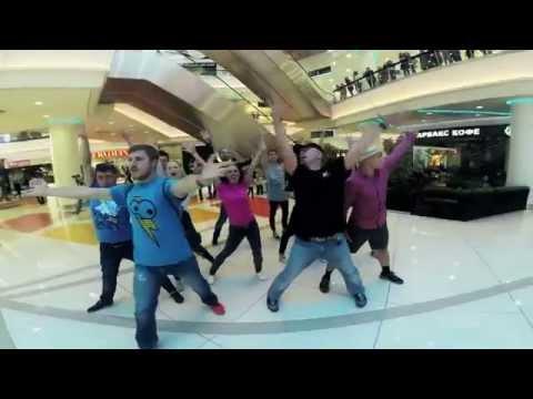 Видео, Танцевальный флешмоб в торговом центре