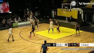 #LNB - Obras Basket 73-58 Platense (10/11/2020)