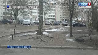 Неделя в Смоленской области началась с апрельской метели