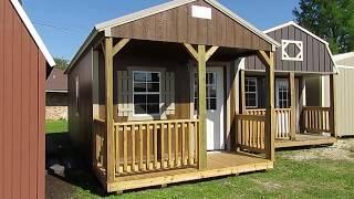 12x24 Derksen Cabin At Big W's Portable Buildings In Lafayette, La