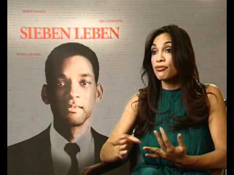 Will Smith and Rosario Dawson  on Seven Pounds