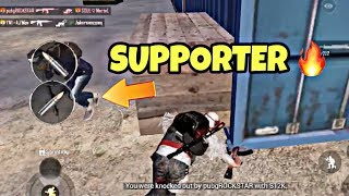 My true Supporter did not kill me in the start, ended up being an Awesome Match | PUBG MOBILE