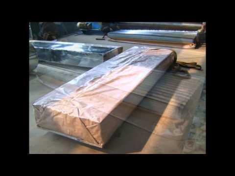 Видео Перфорированный лист из стали
