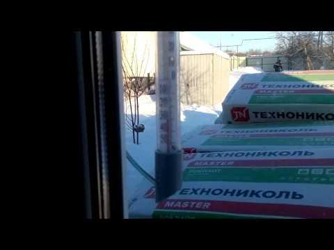 Плэн  в мороз -30 сможет?каркасный дом ч1. (инфракрасное отопление,потолочное отопление )Плэн отзывы