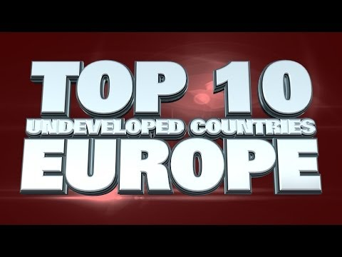 10 least developed countries in Europe 2014