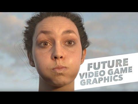 FUTURE OF VIDEO GAME GRAPHICS LOOKS INSANE!!!