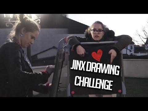 Jinx drawing challenge