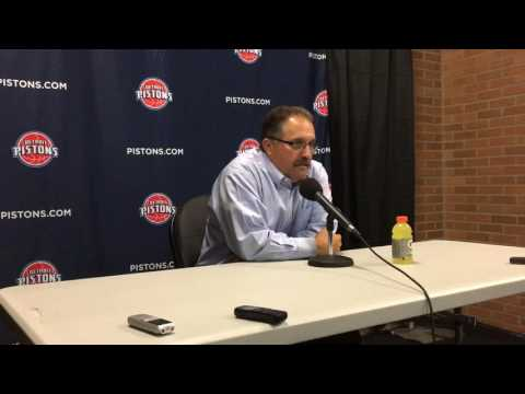 SVG talks Pistons' preseason win over Bucks