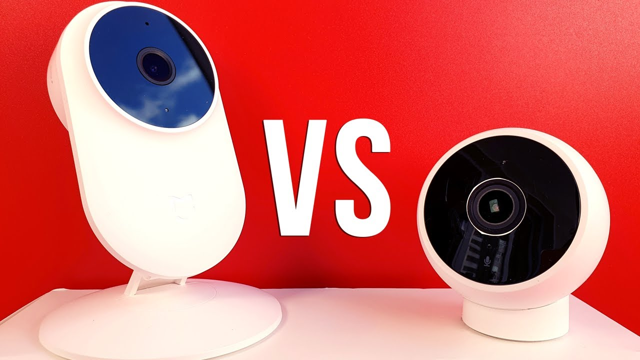 Сравнение Xiaomi Mijia 1080p и Mi smart camera Standard edition