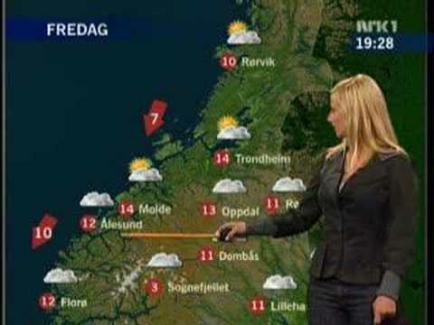 Funny weather - Været på NRK klikker..