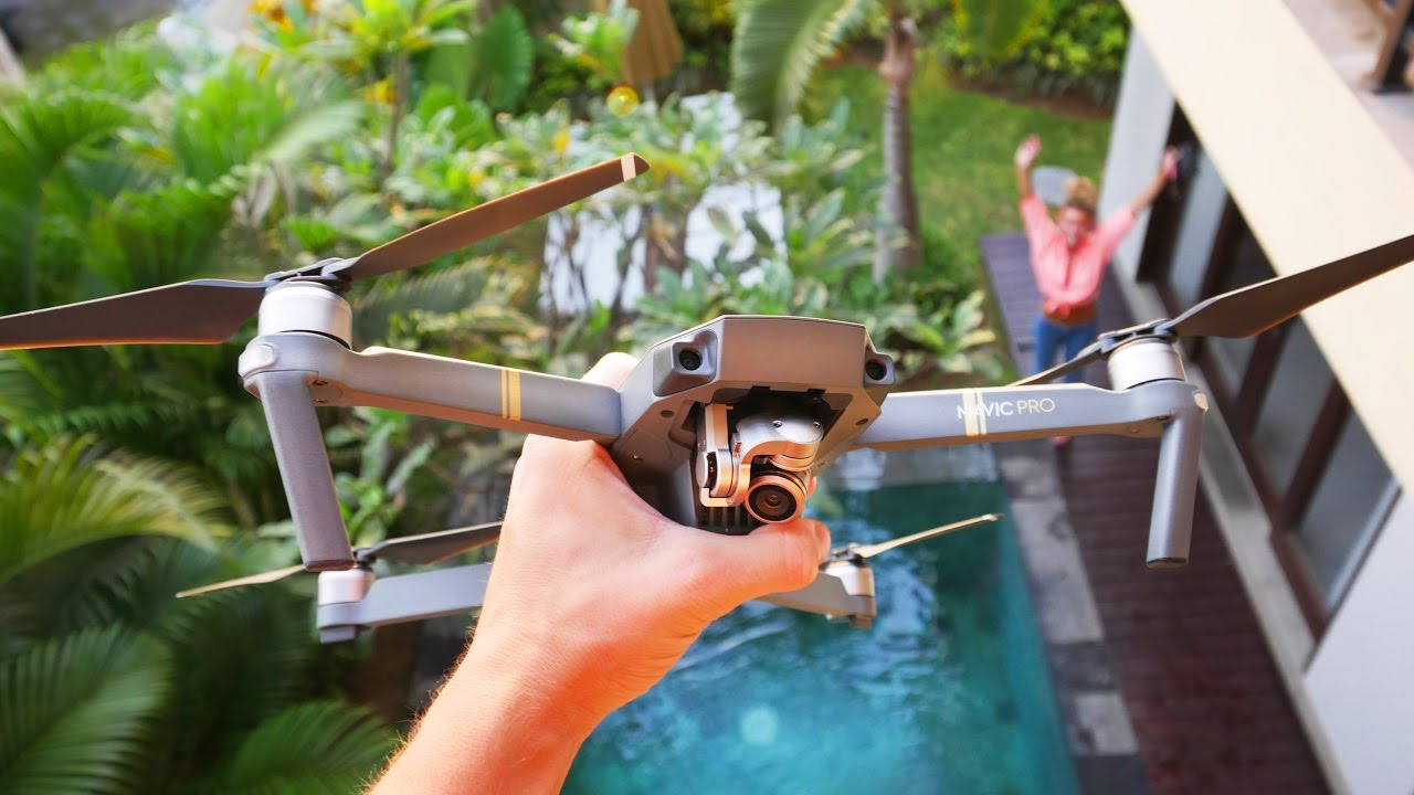 MY DJI MAVIC - FLYING IN BALI