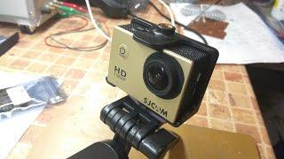 Усиливаем звук на экшн камере SJCAM SJ4000