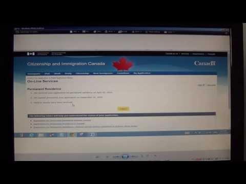 Как мы проверяли статус нашей заявки на сайте CIC
