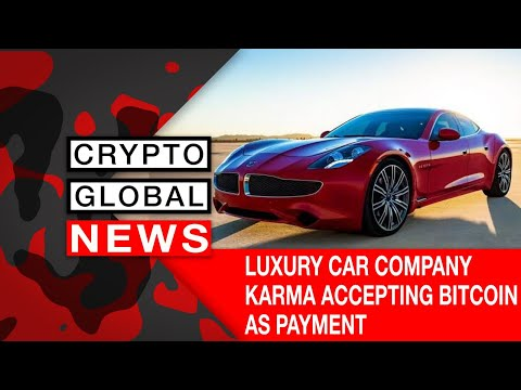 LUXURY CAR COMPANY ACCEPTING BITCOIN AS PAYMENT