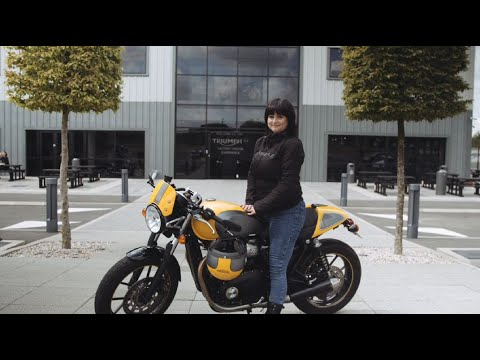Triumph and DGR 2019 - Ride for the people you love - Lara Collins