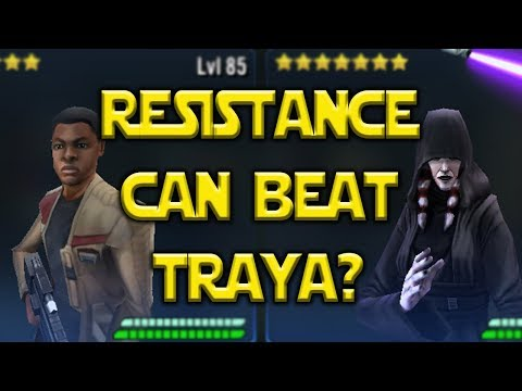 Resistance Can Beat Traya?  Star Wars: Galaxy Of Heroes SWGOH