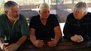 White Squaters outside Krugersdorp South africa interviwed by myself .on how they survive
