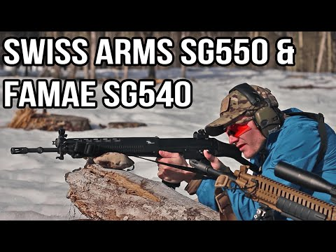 Swiss Arms SG550 and FAMAE SG540 Review