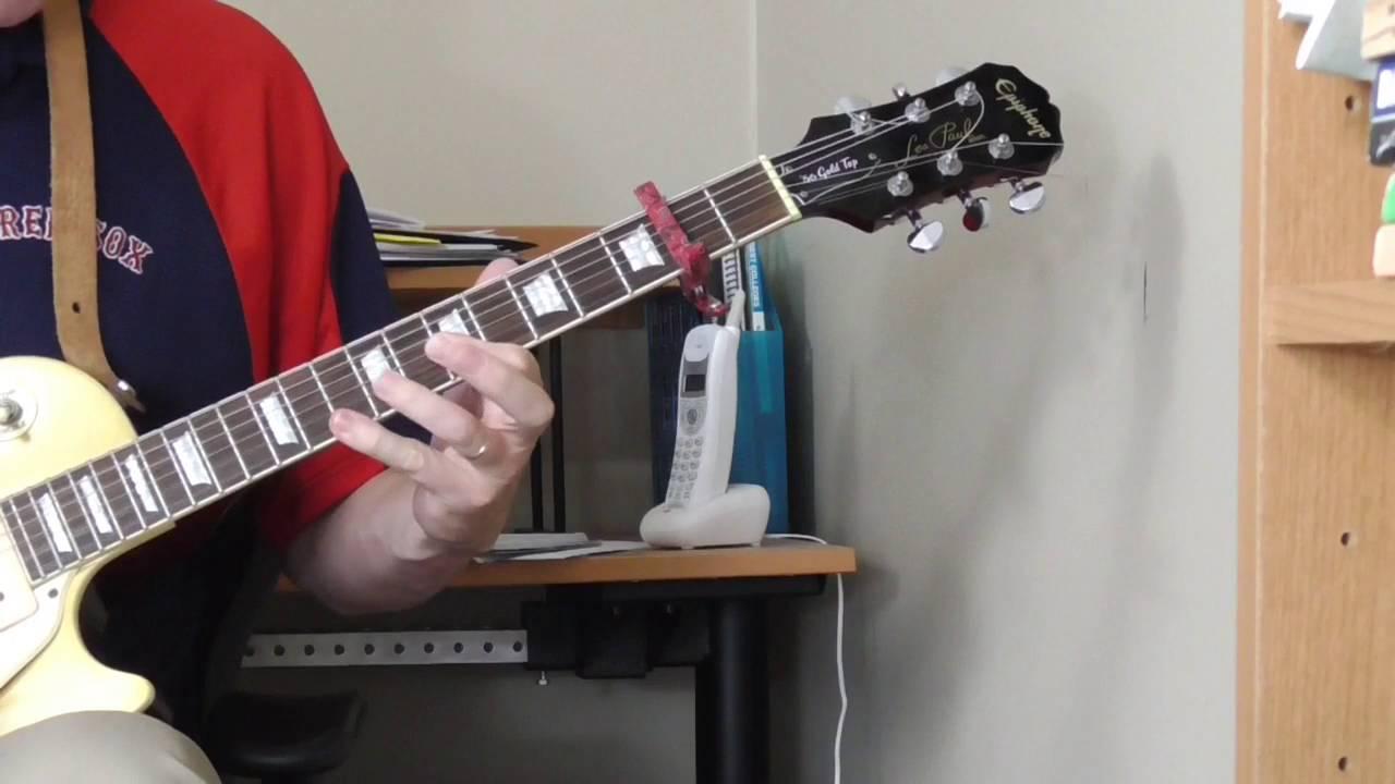 john lee hooker guitar lesson part 3 over the iv youtube. Black Bedroom Furniture Sets. Home Design Ideas
