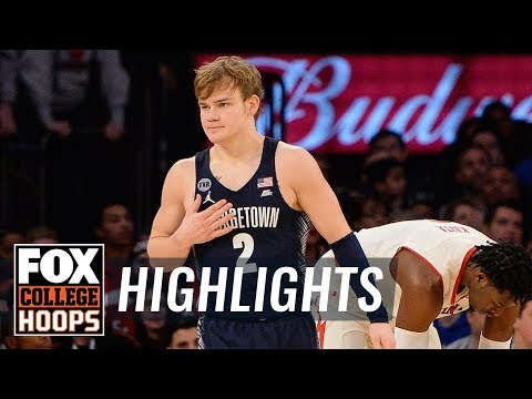 Mac McClung leads Georgetown past St. John's with 25-point high | FOX COLLEGE HOOPS HIGHLIGHTS