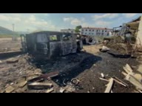 Azerbaijan Accused Of Shelling Nagorno-Karbakh Hospital