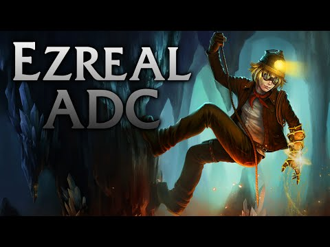 League of Legends | Explorer Ezreal ADC - Full Game Commentary